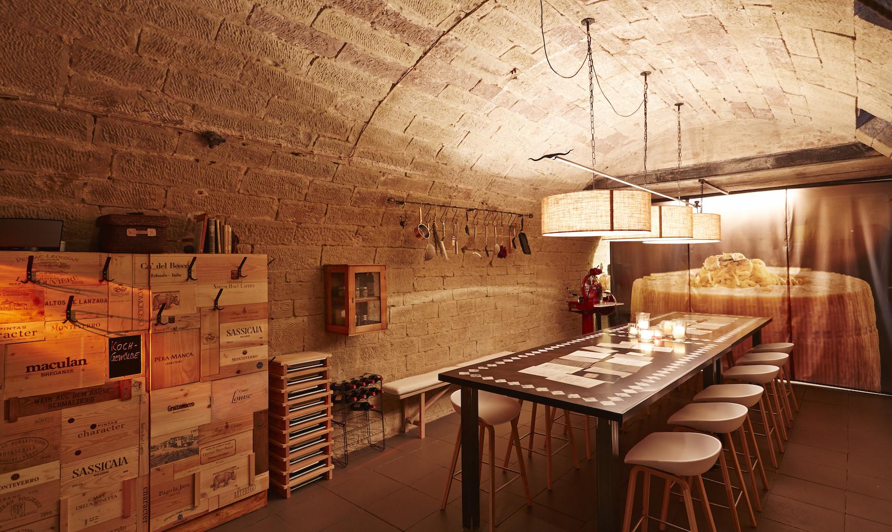 Restaurant restaurant der zauberlehrling designhotel for Designhotel stuttgart